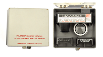 4100fafae3 Polaroid # 563 Close-up kit. For use with 250, 350 and 450 Land Automatic  pack cameras. Range: 9-15