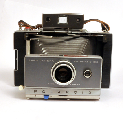 vintage automatic land polaroid cameras for sale