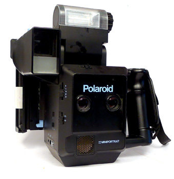 how to find the modle on a polaroid