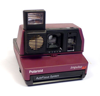 VINTAGE 600 IMPULSE POLAROID CAMERAS FOR SALE .. Polaroid Madness ... 34478c737712