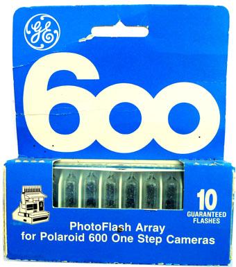 600 flashbars for polaroid's 600 type cameras .. polaroid