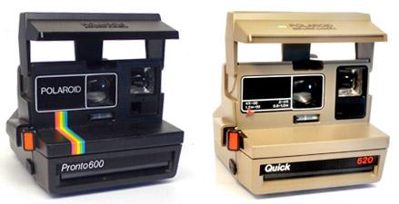VINTAGE 600 TYPE POLAROID CAMERAS FOR SALE .. Polaroid Madness ...